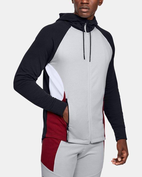 Men's SC30™ Warm Up Jacket, Gray, pdpMainDesktop image number 0