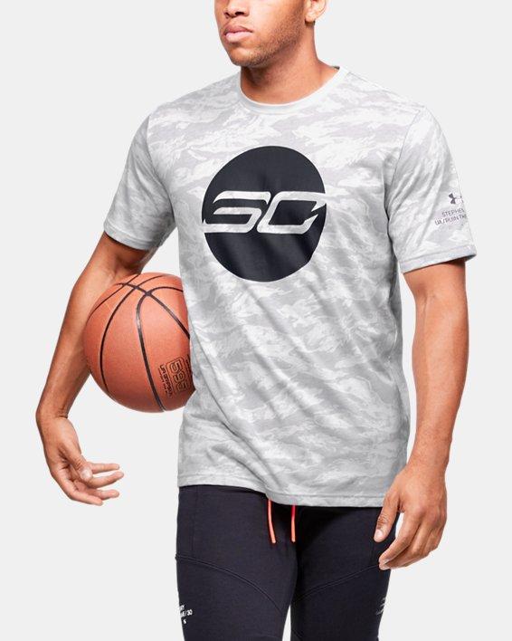 Men's SC30™ Logo Short Sleeve, Gray, pdpMainDesktop image number 0