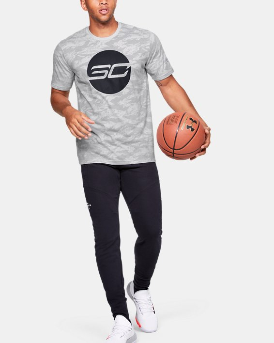Men's SC30™ Logo Short Sleeve, Gray, pdpMainDesktop image number 1