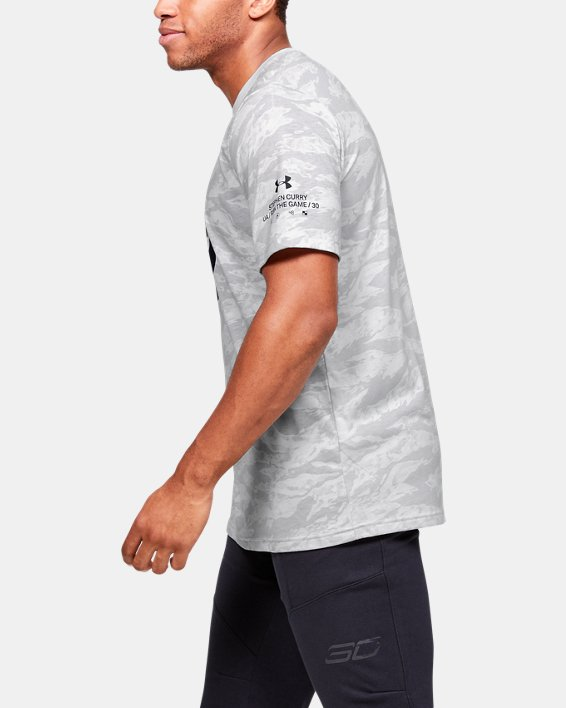 Men's SC30™ Logo Short Sleeve, Gray, pdpMainDesktop image number 3