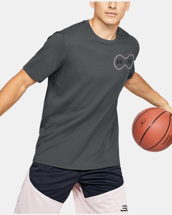 Men's SC30™ Short Sleeve, Gray, pdpMainDesktop image number 1