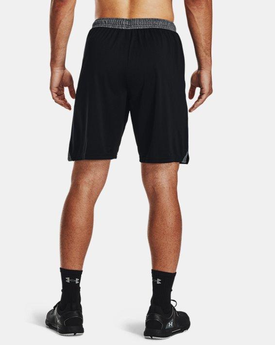 """Men's UA Locker 9"""" Pocketed Shorts, Black, pdpMainDesktop image number 2"""