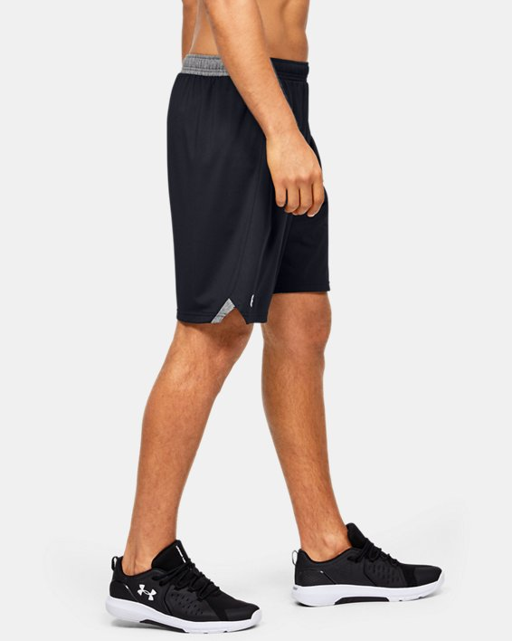 "Men's UA Locker 9"" Shorts, Black, pdpMainDesktop image number 3"
