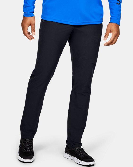 Men's UA Canyon Pants, Black, pdpMainDesktop image number 0