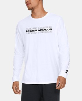 New Arrival Men's UA Replay Long Sleeve Shirt  1  Color Available $30