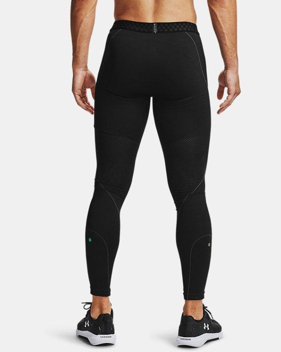 Men's UA RUSH™ Seamless Leggings, Black, pdpMainDesktop image number 3