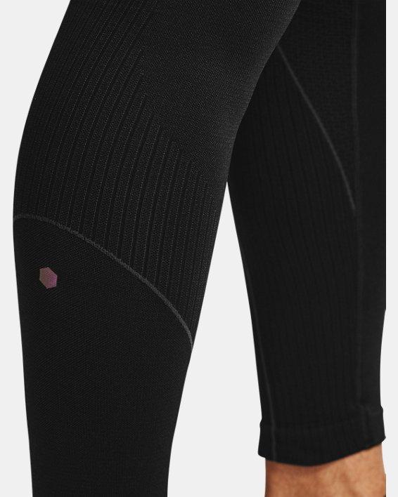 Men's UA RUSH™ Seamless Leggings, Black, pdpMainDesktop image number 7