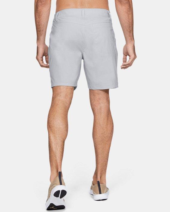 "Men's UA Fish Hunter 8"" Shorts, Gray, pdpMainDesktop image number 2"