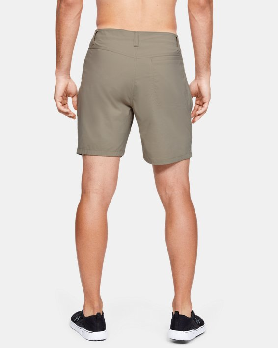 "Men's UA Fish Hunter 8"" Shorts, Brown, pdpMainDesktop image number 2"