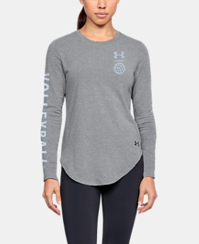 New Arrival Women's UA Volleyball LC Long Sleeve Shirt  1  Color Available $40