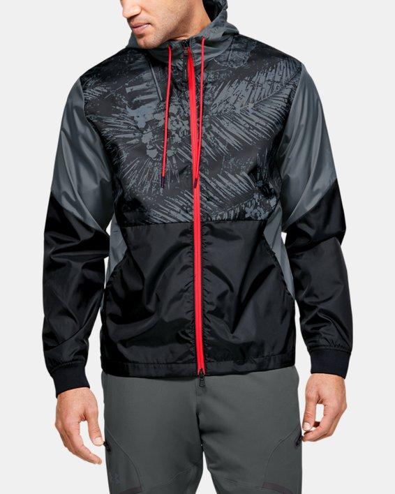Men's Project Rock Legacy Windbreaker Jacket, Black, pdpMainDesktop image number 1
