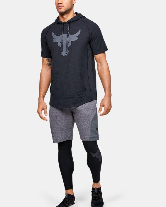 Men's Project Rock Leggings, Black, pdpMainDesktop image number 1