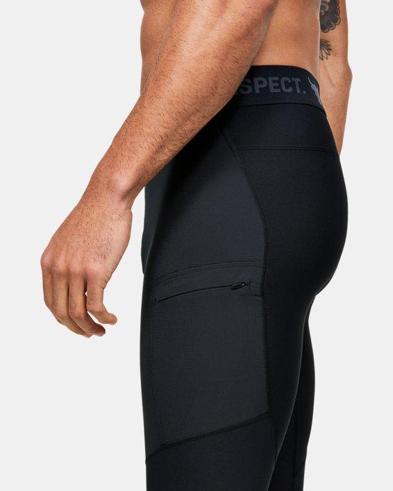 Men's Project Rock Leggings, Black, pdpMainDesktop image number 3