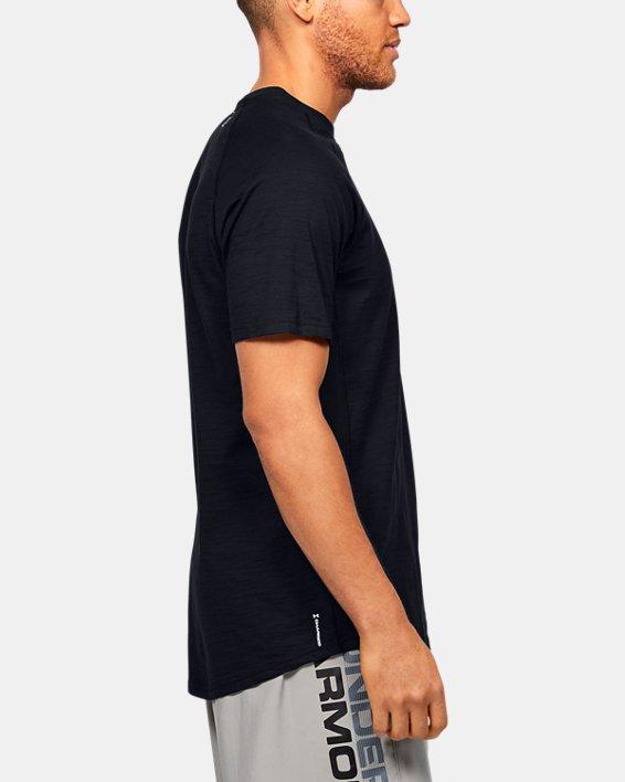 Men's Charged Cotton® Short Sleeve, Black, pdpMainDesktop image number 3