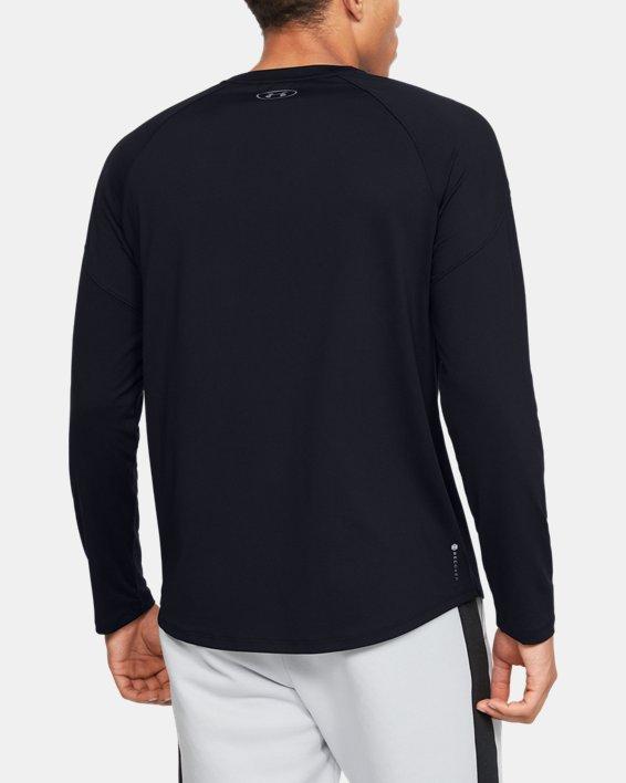 Men's UA RECOVER™ Long Sleeve, Black, pdpMainDesktop image number 2