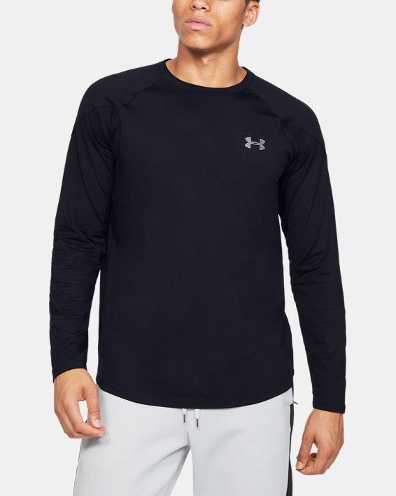 Men's UA RECOVER™ Long Sleeve, Black, pdpMainDesktop image number 0