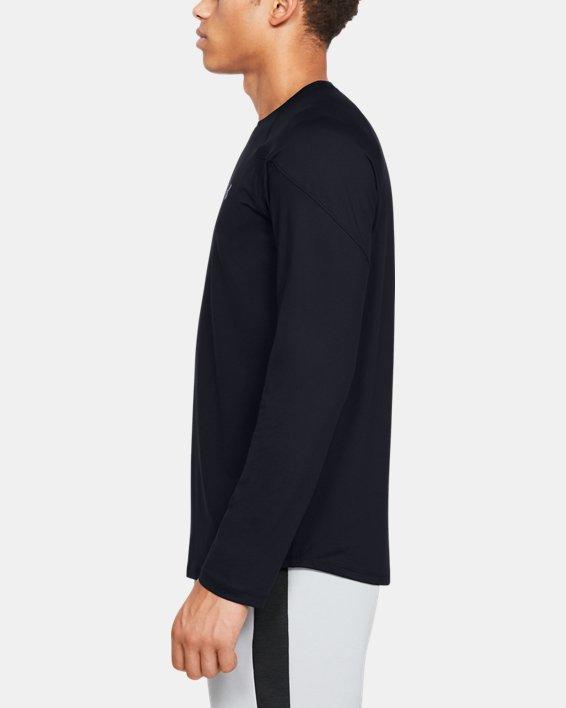 T-shirt à manches longues UA RECOVER™ pour homme, Black, pdpMainDesktop image number 3