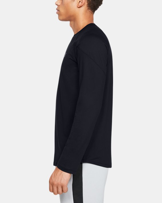 Men's UA RECOVER™ Long Sleeve, Black, pdpMainDesktop image number 3