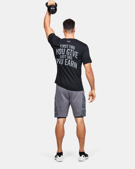 Men's Project Rock BSR Short Sleeve, Black, pdpMainDesktop image number 1