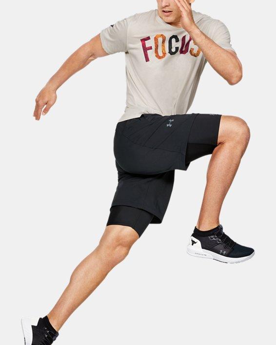 Men's Project Rock Mahalo Short Sleeve, White, pdpMainDesktop image number 1