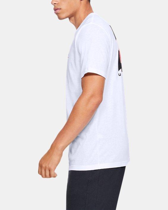 Men's UA Reflection Short Sleeve, White, pdpMainDesktop image number 3