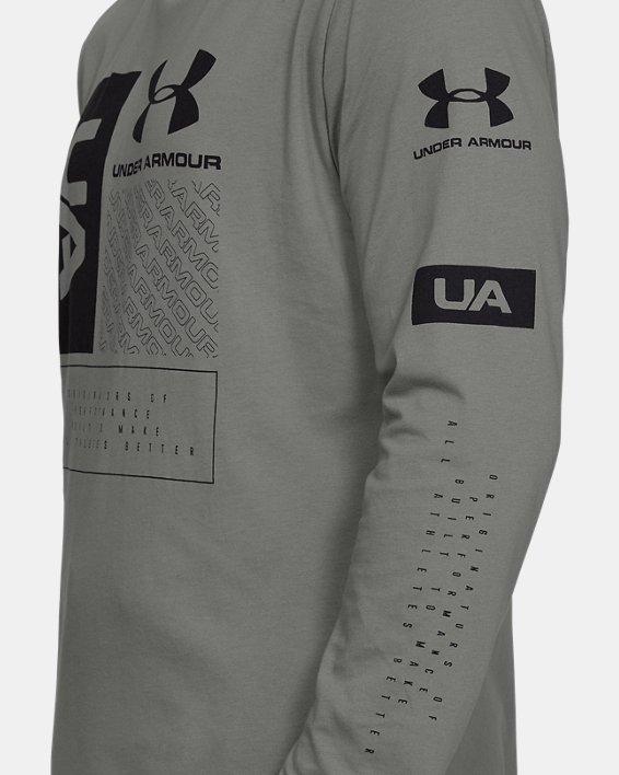 Men's UA Multi Long Sleeve, Green, pdpMainDesktop image number 5