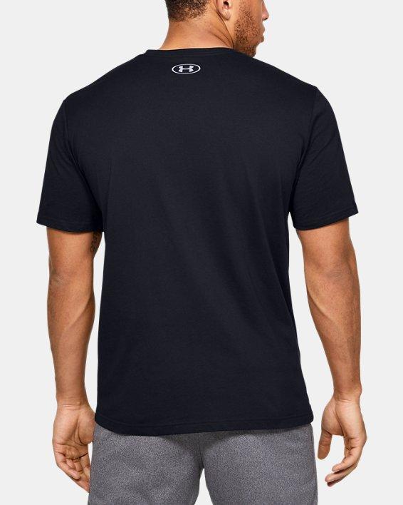 Men's UA Pastel Cut Off Short Sleeve, Black, pdpMainDesktop image number 2