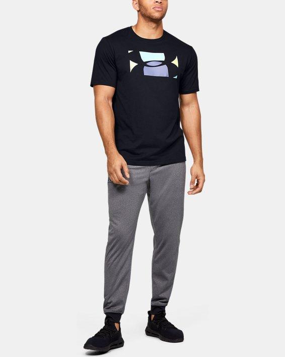 Men's UA Pastel Cut Off Short Sleeve, Black, pdpMainDesktop image number 1