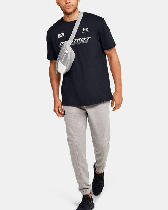 Men's UA PTH Back Short Sleeve, Black, pdpMainDesktop image number 1