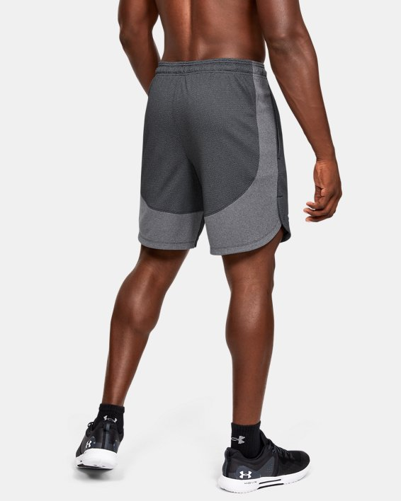Men's UA Knit Performance Training Shorts, Black, pdpMainDesktop image number 2