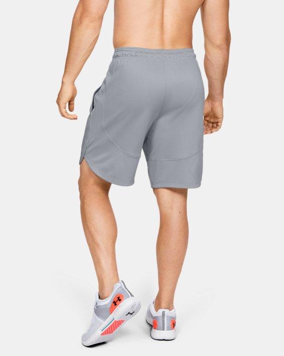 Men's UA Knit Performance Training Shorts, Gray, pdpMainDesktop image number 2