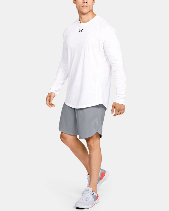 Men's UA Knit Performance Training Shorts, Gray, pdpMainDesktop image number 0