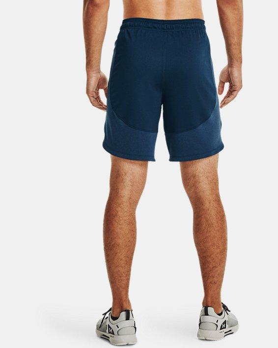 Men's UA Knit Performance Training Shorts, Navy, pdpMainDesktop image number 2