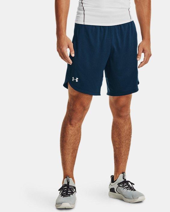 Men's UA Knit Performance Training Shorts, Navy, pdpMainDesktop image number 1