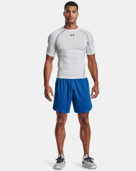 Men's UA Knit Performance Training Shorts, Blue, pdpMainDesktop image number 0