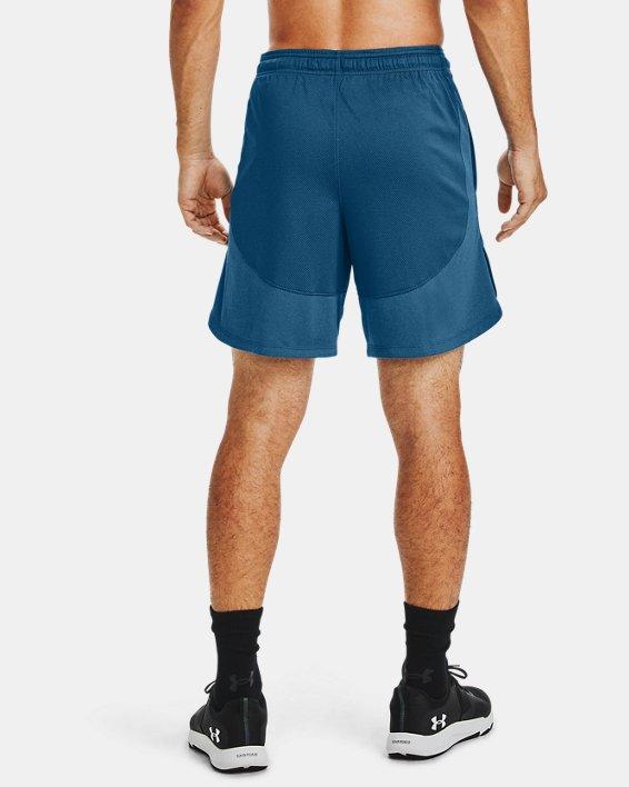 Men's UA Knit Performance Training Shorts, Blue, pdpMainDesktop image number 2