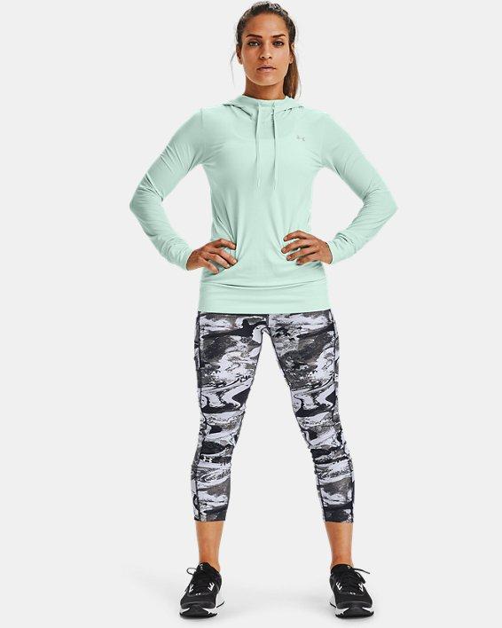 Sweat à capuche UA Seamless pour femme, Blue, pdpMainDesktop image number 1