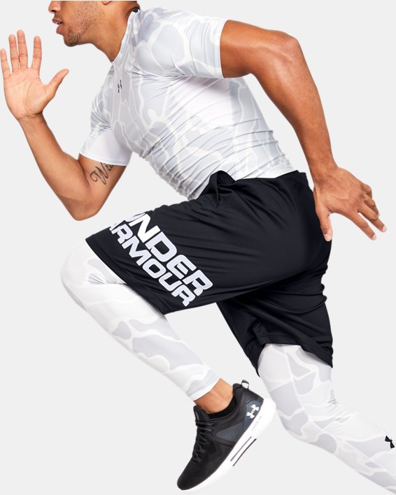 Men's UA Tech™ Wordmark Shorts, Black, pdpMainDesktop image number 0