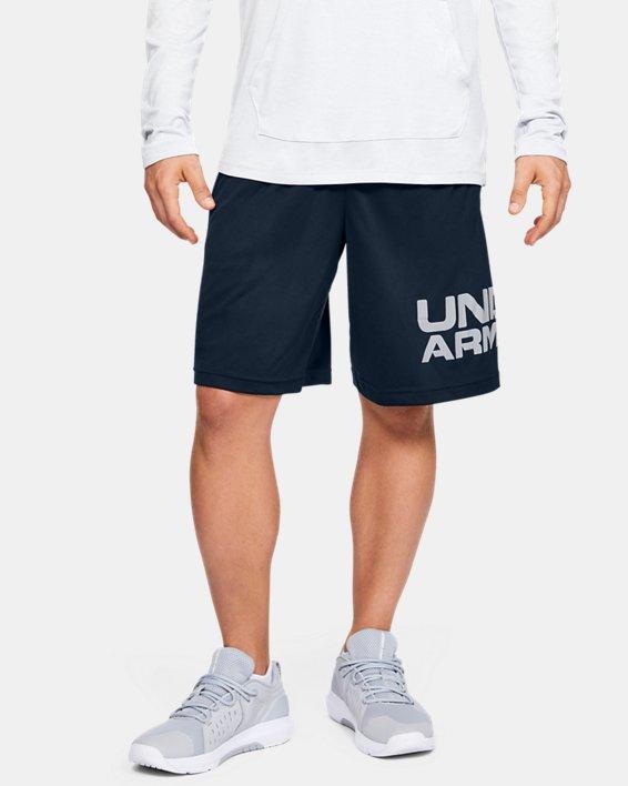 Men's UA Tech™ Wordmark Shorts, Navy, pdpMainDesktop image number 1