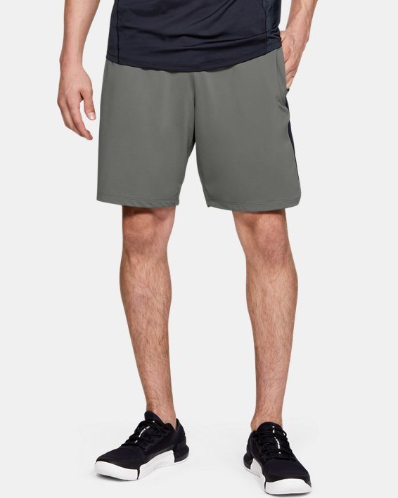 Short UA MK-1 Graphic pour homme, Green, pdpMainDesktop image number 1