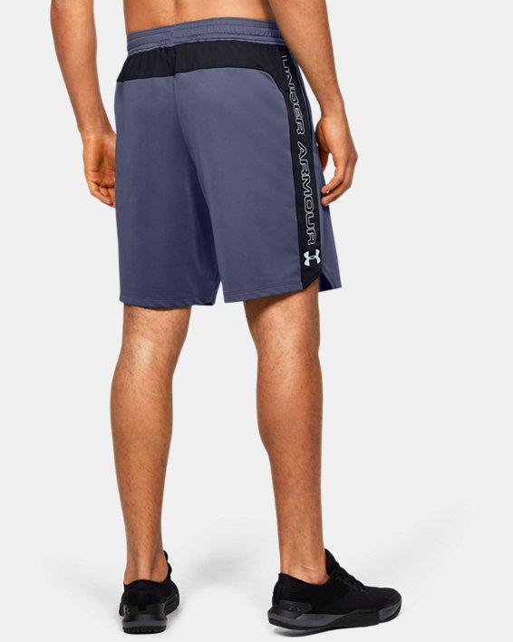 Men's UA MK-1 Graphic Shorts, Blue, pdpMainDesktop image number 2