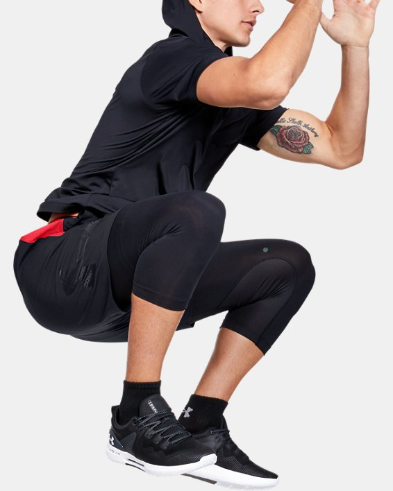 Men's UA Vanish Woven Graphic Shorts, Black, pdpMainDesktop image number 1