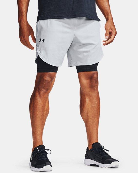 Herren UA Shorts aus Stretchgewebe, Gray, pdpMainDesktop image number 0