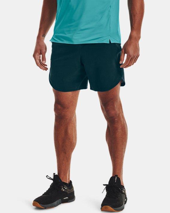 Herren UA Shorts aus Stretchgewebe, Blue, pdpMainDesktop image number 1