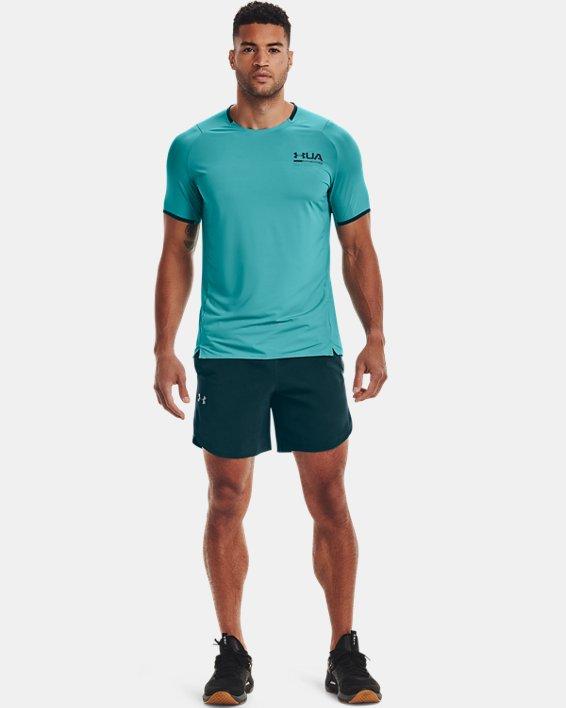 Herren UA Shorts aus Stretchgewebe, Blue, pdpMainDesktop image number 0