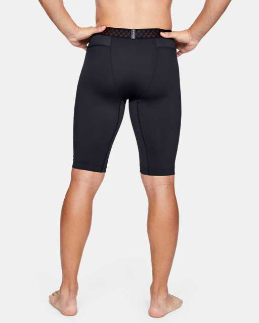 Men's UA RUSH™ HeatGear® Long Compression Shorts