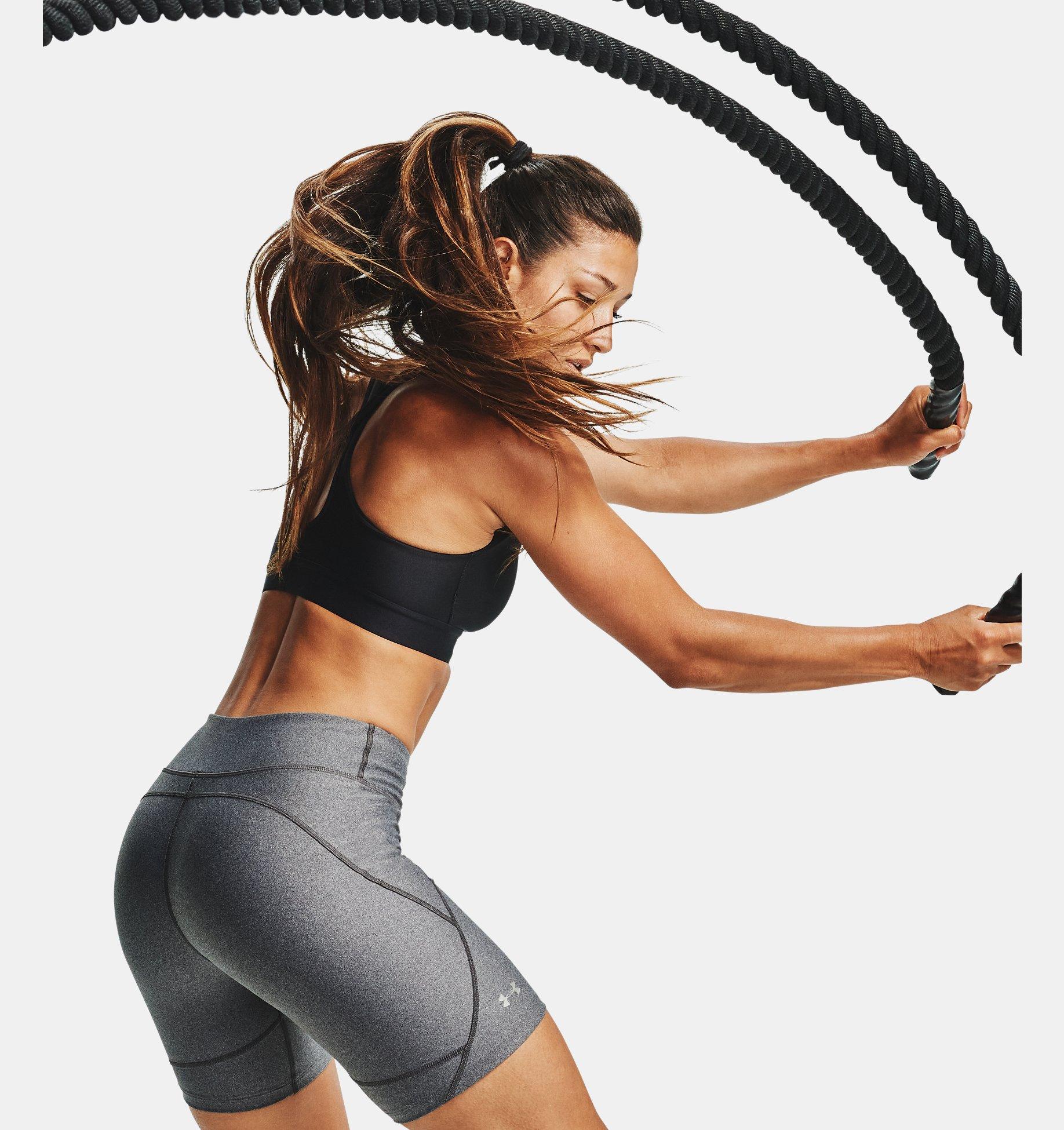 Women's HeatGear® Armour Bike Shorts | Under Armour