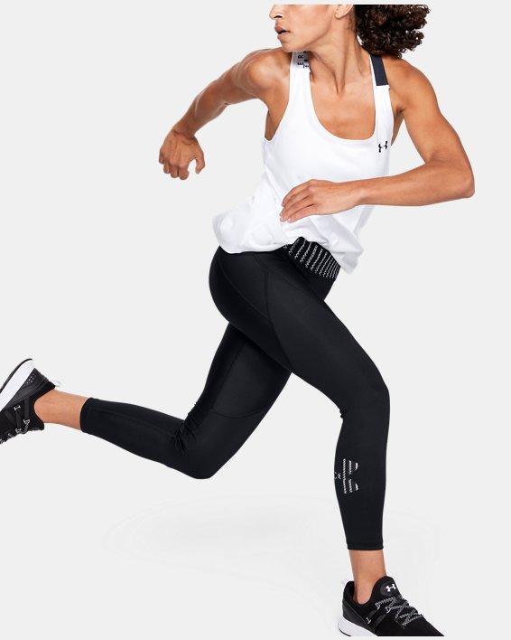 Women's HeatGear® Armour 6M Ankle Crop, Black, pdpMainDesktop image number 1