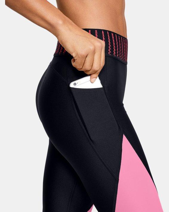Women's HeatGear® Armour 6M Ankle Crop, Black, pdpMainDesktop image number 5