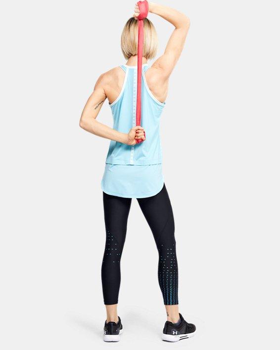 Women's HeatGear® Armour Iridescent Ankle Crop, Black, pdpMainDesktop image number 1